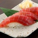 お寿司も3カン300円