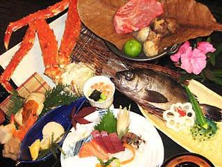 ◆季節食材の会席料理