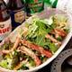 沖縄直送アグーbaconの生野菜サラダです。