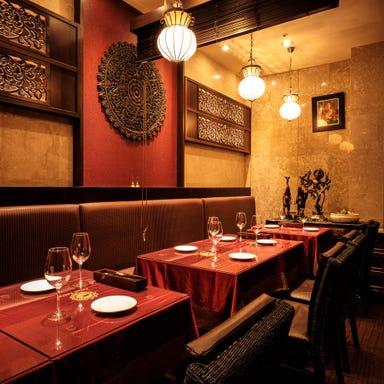オリエンタルレストラン&ワインバー アジアンタワン168 店内の画像