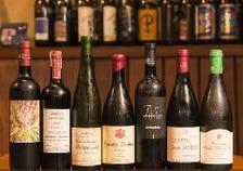 ◇70銘柄以上のこだわりワイン