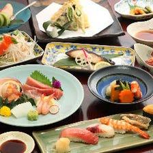 握りたての寿司をコースで愉しむ