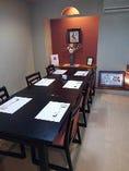 【個室テーブル席】 個室お座敷にテーブル席をご用意いしました