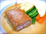 マグロのステーキ