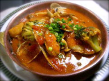 魚貝のトマトソース煮