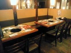 炭火焼肉 牛角 南福島店 店内の画像