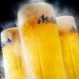 アサヒ スーパードライ 樽生ビール:こだわりの製法で仕上げるビール。