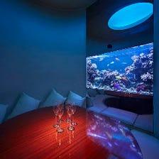 ロマンティックな海底個室への誘い