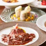 各地のレストランで研鑽を積んだシェフが織りなすイタリアン美食