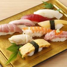 旨い魚がズラリ!にぎり寿司が美味い