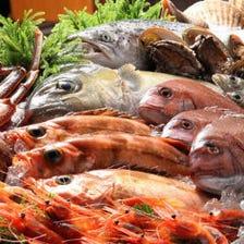全国より到着する旬の厳選された魚達