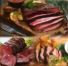 元公邸料理人が手掛ける肉料理の数々