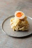 半熟卵のせポテトサラダ