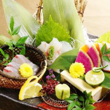 鮮魚三種盛り
