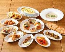 小皿料理も色々あります