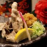 ゆで豚おろしポン酢