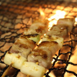 ネギマ串(塩、タレ、黒胡椒)