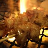 牛ホルモン串(塩、タレ、味噌)