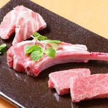 お肉にこだわっております