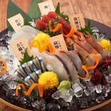 馬刺しやもつ鍋だけじゃない! 鮮魚にもこだわっております。