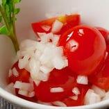 オニオン&トマトのサラダ