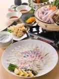 河豚コース(要予約)¥5,500
