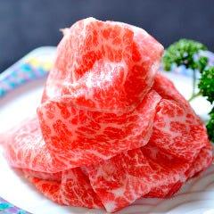 レアステーキ薄切り(赤身)