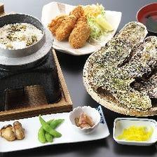 焼き牡蠣コース