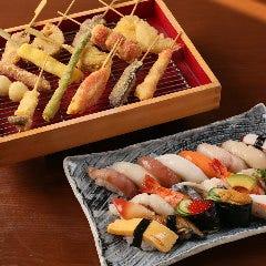寿司 串かつ 飲み放題 てしごと家新浦安店