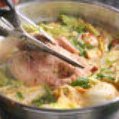 タッカンマリ(日本でここだけしか食べれない逸品)