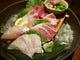 毎日仕入れる鮮魚は競り次第 その日美味しい魚を日替わりで