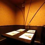 個室あります。 静かな空間を希望の方にオススメ
