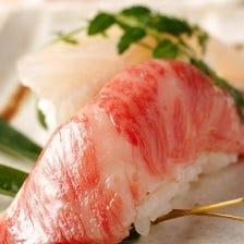 ◆7品◆旬の食材が食べれるリーズナブルなコース!(+1500円で飲み方題付けれます!) 3HOK!