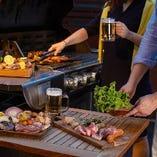 【期間限定プラン】個室BBQコース 7品 2時間+ソフドリ飲み放題付 4,500円