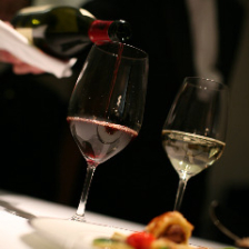 ワインも充実