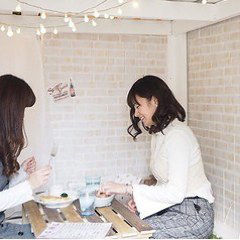 隠れ家 個室 DIYカフェ 三宮北野坂店 こだわりの画像