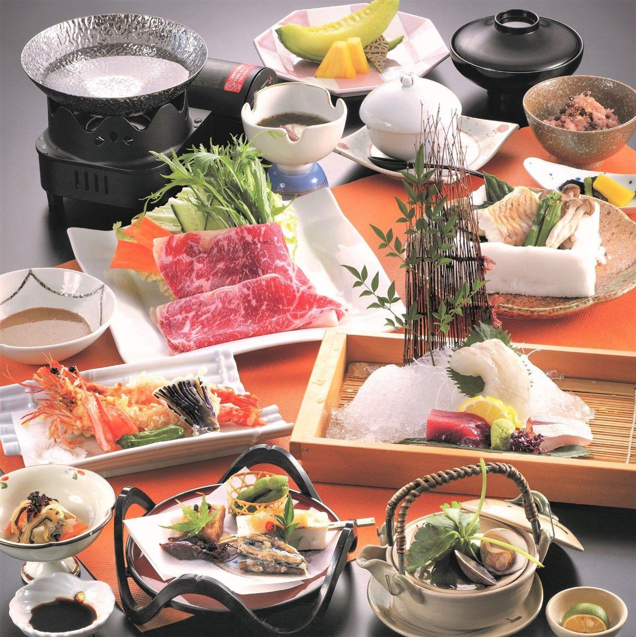 お祝いに相応しい空間と料理をご提供