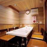 お仲間と楽しいひと時をお過ごしいただけるテーブル席【宴会/女子会/記念日】