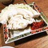 キャベツ味噌