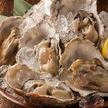 厚岸から直送!!新鮮牡蠣1個110円!国内で唯一、年間通して生食できる厚岸直送の生牡蠣!!海水と淡水、海と山の栄養をその身いっぱいにとりこんだ地元厚岸の牡蠣。ぜひ一度ご賞味ください♪いつでも1個110円で提供できるのはくろべゑだけっ!ぷりっぷりの身が味わえる生牡蠣がおすすめ!この機会に一度お愉しみください。
