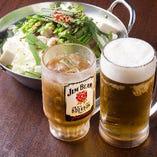 【ドリンク】 定番のビールからカクテルまで幅広くご用意◎