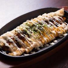 明太チーズとん平焼