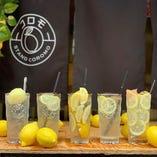 レモンサワー6種!お気に入りはどれ?