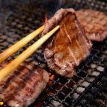 【名物!】厚切り牛タン焼
