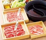 野菜食べ放題付きセットは、2700円(税抜)~