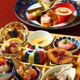 【珠玉の逸品】 四季折々の豊かな食彩に舌鼓を打ってください