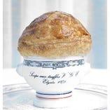 1975年にエリゼ宮でV.G.E.に捧げたトリュフのスープ