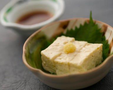 豆富料理 蓮月茶や  メニューの画像