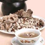 【冬の例湯】 オニバスの実と蓮根の健康スープ