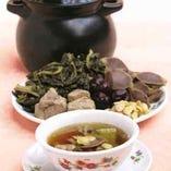 【春の例湯】 干し白菜と鴨腎の健康スープ